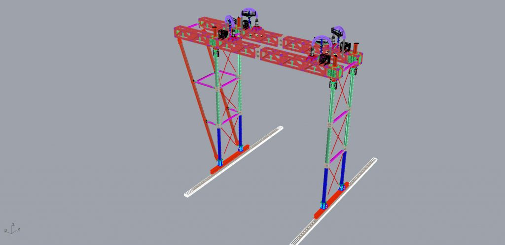 Gantry drawing